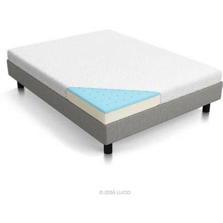 walmart foam mattress lucid 5 quot gel memory foam mattress sizes
