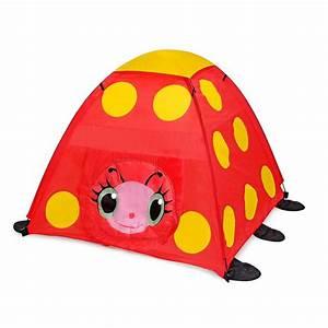 Tente Enfant Exterieur : tente coccinelle rouge enfants camping exterieur interieur jeux ~ Farleysfitness.com Idées de Décoration