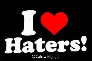 I Love Haters Wallpaper ·① WallpaperTag