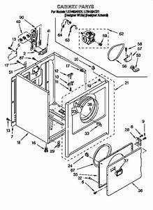 Whirlpool Ler4634dq1 Dryer Parts