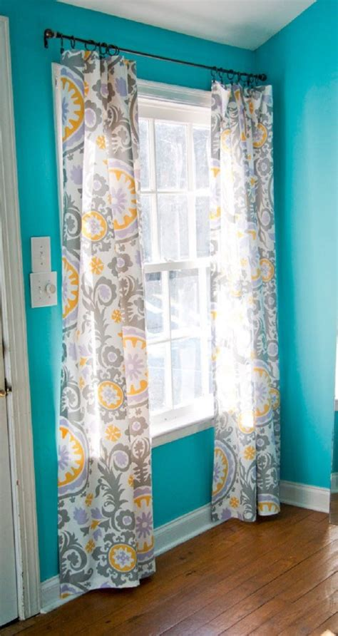 sew drapes 12 diy curtains no sewing required brit co