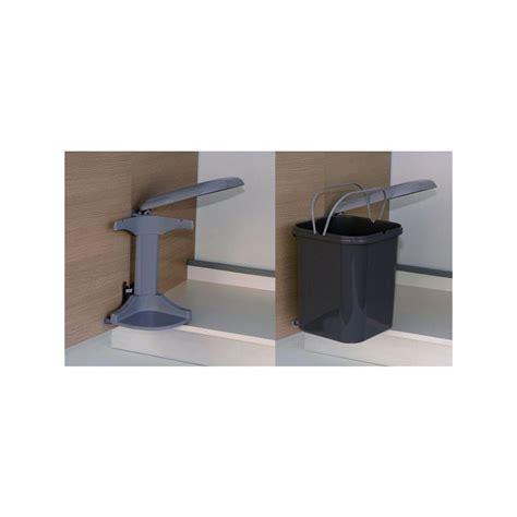 poubelle cuisine pivotante poubelle bac grise 15 litres ilovedetails com