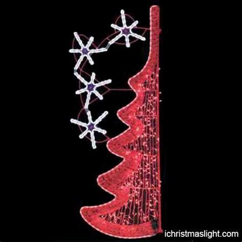 street pole light  christmas decorations ichristmaslight