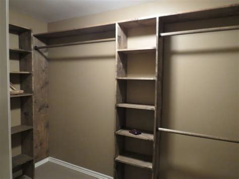 Narrow Closet Shelving by Diy Closet Shelves Walk In Closets No More Living Out