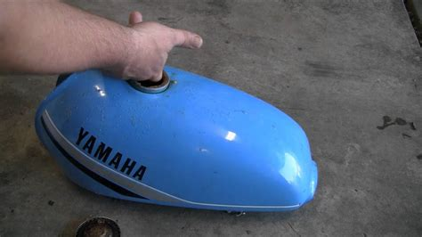 Remove Rust From Motorcycle Gas Tank