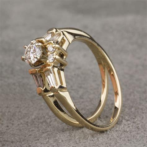pre owned diamond wedding set