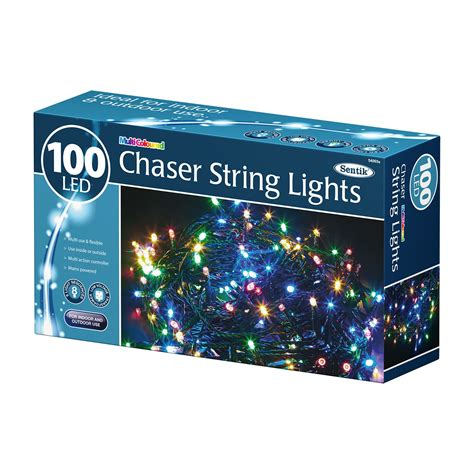 100 200 400 led chaser string fairy lights indoor outdoor