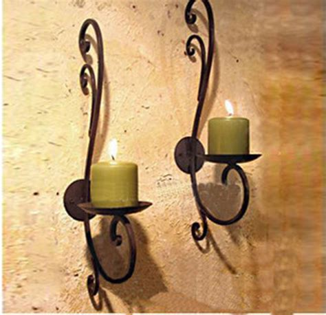 pcslot iron candle holder home decoration metal candle