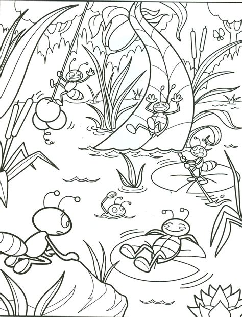 Summer Coloring Pages Getcoloringpagescom