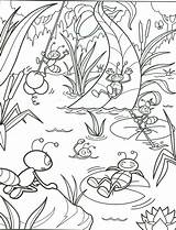 Summer Coloring Pages Printable Getcoloringpages Beach sketch template