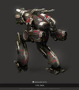 MWO - Marauder IIC - Pyre Omen by user000000000001 on ...
