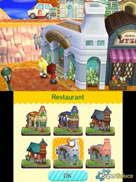 Les Bâtiments Municipaux  Soluce Animal Crossing Happy
