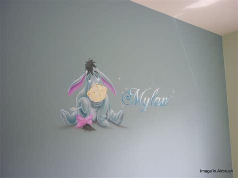 décor mural chambre de bébé bourriquet