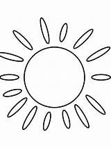 Sun Coloring Printable Capri Bright Colors Favorite Mycoloring Template Recommended sketch template