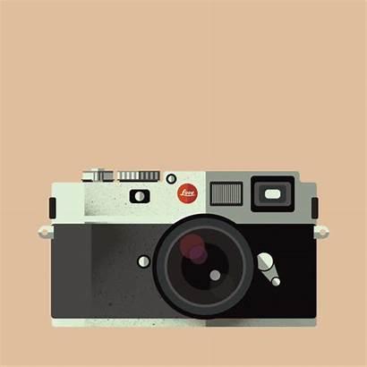 Camera Retro Animation Micro Motion Behance Camara