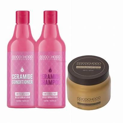 Shampoo Conditioner Repair Mask Keratin Cocochoco
