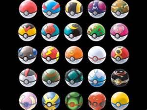 billy balls all kinds of pokéballs