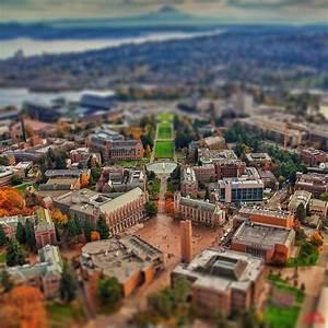 University of Washington campus (r/cityporn) : tiltshift