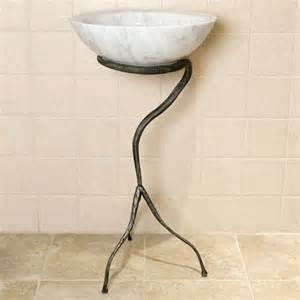 wrought iron sink stand tyrin wrought iron sink stand gunmetal pedestal sinks