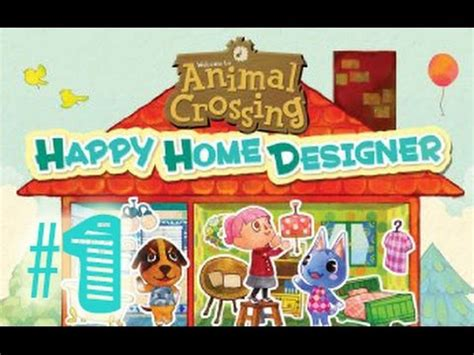 Happy Home Designer Animal Crossing Part 1  Youtube