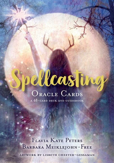 The buddha of enlightened action my soul informs my every step. Spellcasting Oracle Cards