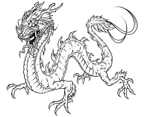 dragon coloring pages  dr odd
