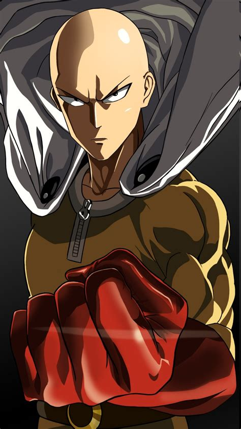 Saitama One Punch Man Anime Gloves Wallpapers Hd