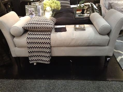 ottoman for foot of bed new stunning grey bed end ottoman foot stool with cushions