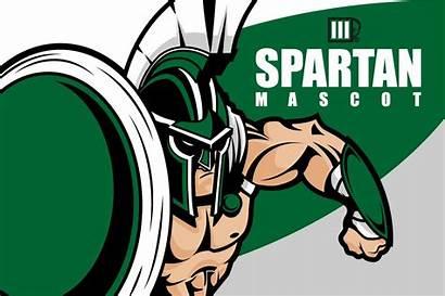 Spartan Mascot Vector Helmet Graphics Trojan Creativemarket