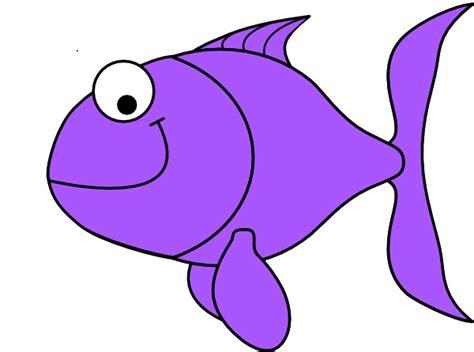 Purple Clipart Purple Fish Clip At Clker Vector Clip
