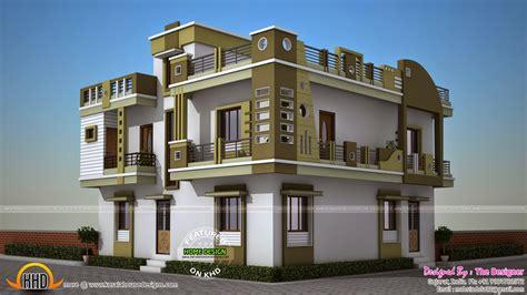floor plan for duplex february 2015 kerala home design and floor plans
