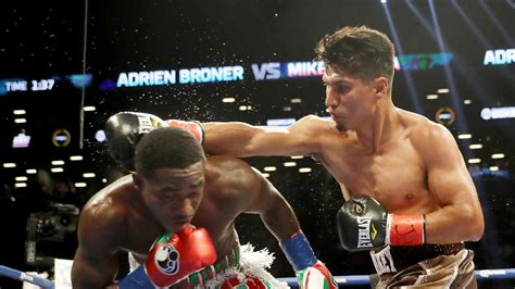 boxing results  video mikey garcia controls adrien