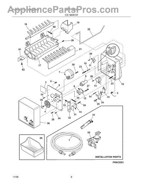 Frigidaire Ice Maker Kit