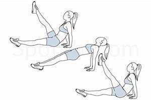 Reverse Plank Leg Raises