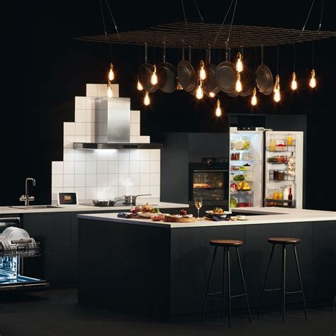 Black kitchen trend 2018   Ideal Home