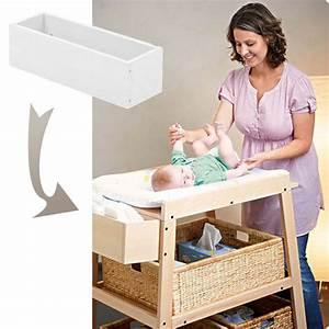 Rangement Table à Langer : casier en bois blanc pour table langer wilma blanc achat vente petit rangement ~ Teatrodelosmanantiales.com Idées de Décoration