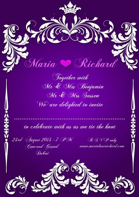 Wedding Invitation Card Design By Ziyaaf On Deviantart