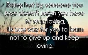 Being hurt by s... Hurt Meaning Quotes
