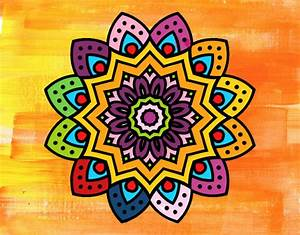 Mandalas hindúes: 50 Dibujos para imprimir y colorear Mandalas