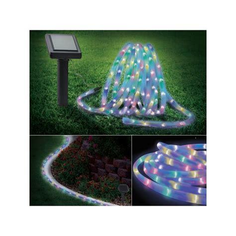 cordon lumineux solaire 150 led multicolores eclairage et d 233 corati