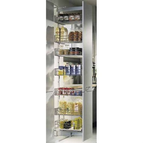 pull  pantry baskets  mmxx silver mitre