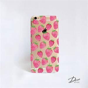 Strawberry, Print, Phone, Case, By, Dessi, Designs