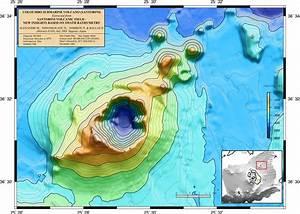 Swath Bathymetry Map Of The Kolumbo Submarine Volcano And
