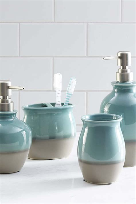 Teal Colored Bathroom Accessories best 25 turquoise bathroom accessories ideas on