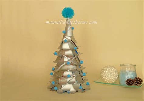 manualidades herme hacer 193 rbol de navidad con cartones de