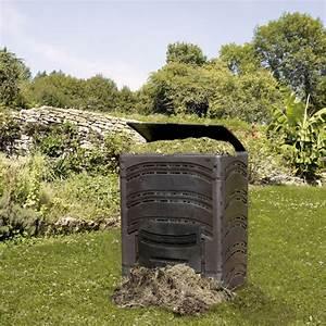 Composteur De Balcon : composteur compost 39 eco 500 l noir bellijardin plantes ~ Melissatoandfro.com Idées de Décoration