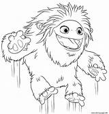 Abominable Yeti Coloring Pages Printable Jumping Everest все категории из раскраски sketch template