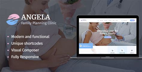 Angela  Family Planning Clinic Wp Theme Download Angela