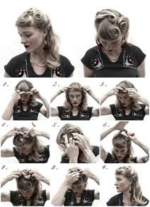 1940s Hairstyle Tutorial by 43 Best Vaselina Costume Images On Retro
