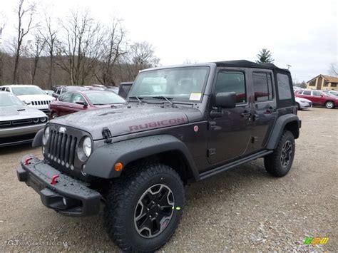 jeep granite crystal 2016 granite crystal metallic jeep wrangler unlimited